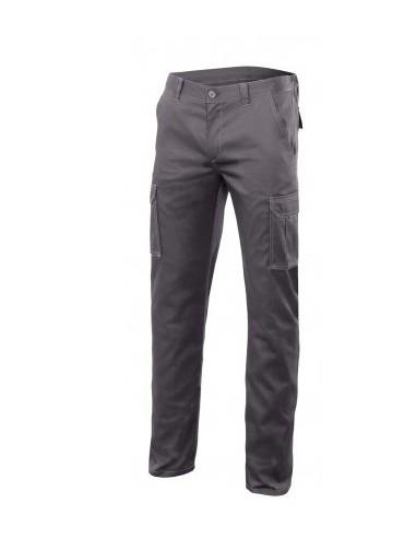 Pantalón stretch multibolsillos...
