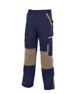 Pantalón bicolor...