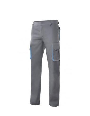 Pantalón bicolor multibolsillos serie...