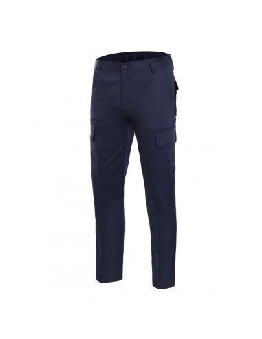 Pantalón 100% algodón multibolsillos...
