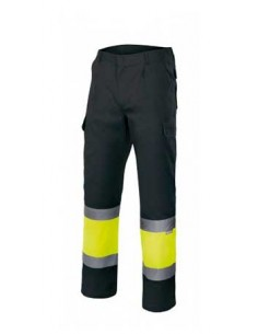 Pantalón bicolor alta...