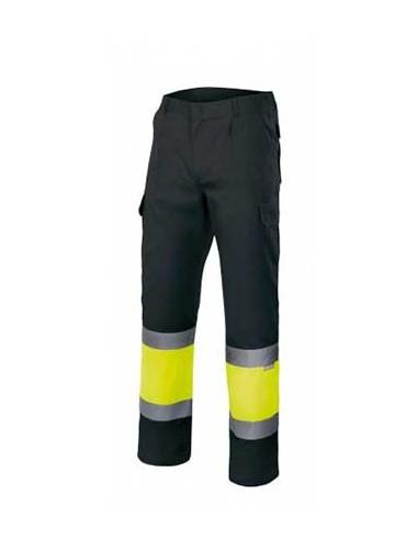 Pantalón bicolor alta visibilidad...
