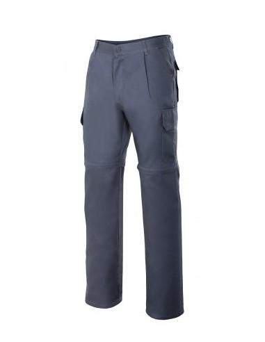 Pantalón desmontable multibolsillos...