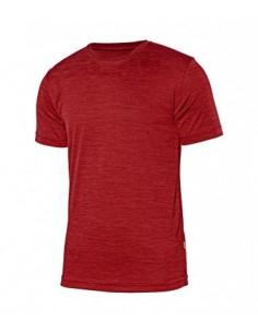 Camiseta técnica jaspeada...