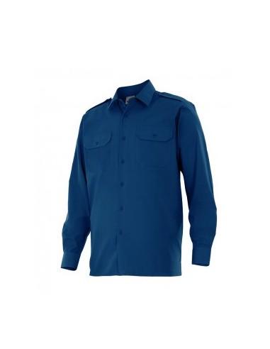 Camisa manga larga con galoneras...