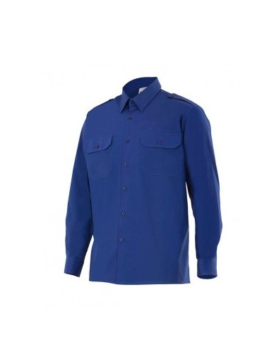 Camisa de algodón de manga larga VELILLA