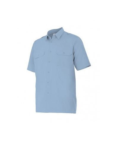 Camisa manga corta con galoneras VELILLA