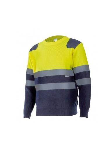 Jersey bicolor alta visibilidad VELILLA